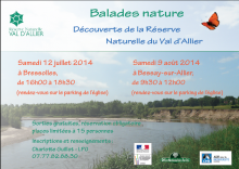 Balades nature - Réserve Naturelle Nationale du Val d'Allier